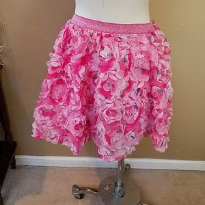 Children's Place Flower skirt